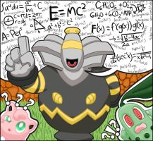 The Eloquent Speaker, Dusknoir by Amy-the-Jigglypuff