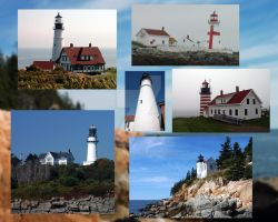 NorthEast Lighthouses by bearhunterimages