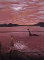 I Dream of Nessie by IreneShpak