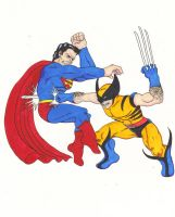 Superman vs Wolverine 2 by ben1804