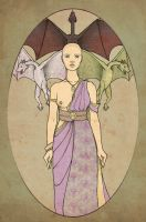 Mother of Dragons by mustamirri
