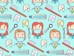 Dentist Pattern by KellerAC