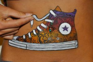 Immerse in Converse by amayamua