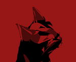 CHAT ROUGE - RED CAT by JFBAYLE