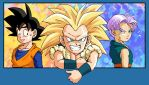 DBZ: Goten + Trunks : Gotenks by Risachantag