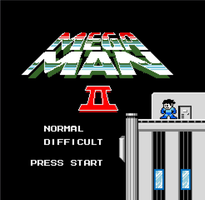 MegaMan II -- Title Screen by XxSwitchxX