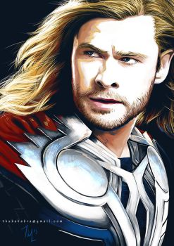 Avengers - Thor by Thubakabra