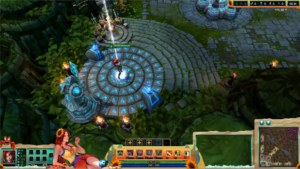 Pool Party Leona League of Legends Overlay by Melificence
