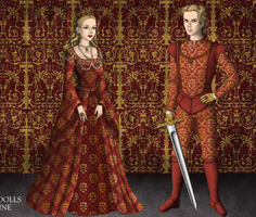 Jaime and Cersei by alcanis-ivennil