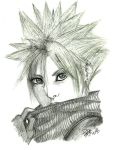 Cloud Strife -Comission by Thata-chann