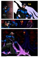Nightwing vs Raven Sequential by kadenfukuyama