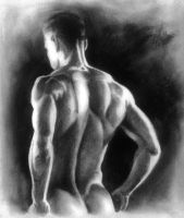 Daily doodle - 05.04.16 Charcoal by FyreBirdi