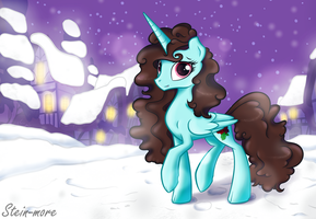 Winter evening by SteiN-more