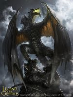 The Dark Knight Dragon by 88grzes