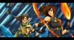 Legend of Sol: The Power of The Avatar Girls by SolKorra