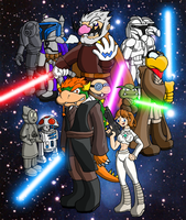 Episode II Attack oftheTroopas by ChetRippo