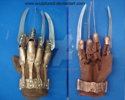 Freddy Krueger Glove by Sculptured