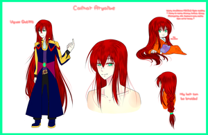 Calinar Aryaiwe Reference Sheet by Kinexuru
