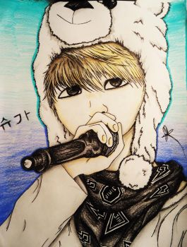 BTS Suga by Cre8iveWing