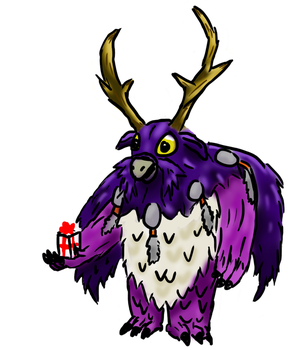 Moonkin, the Gift Giver by Kelaos
