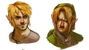 Link doodles by Mudora