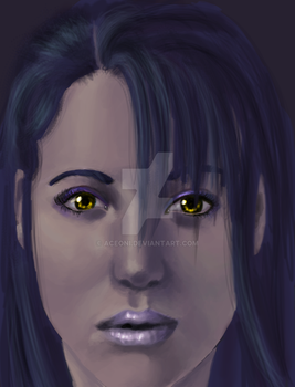 Speed Paint- Golden Eyes by aceoni