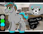Silicon Shock :COMMISH: by Ruby-Orca-616