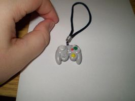 GameCube controller charm by CrowMaiden