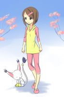 Casual Clothes of Hikari by drantyno