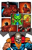 page by  ultimate comics  9 by joseisai