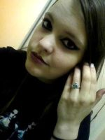 Evanescence inspired makeup by PhantomTwilightWind