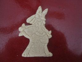 Lucario Cookie Baked by B2Squared