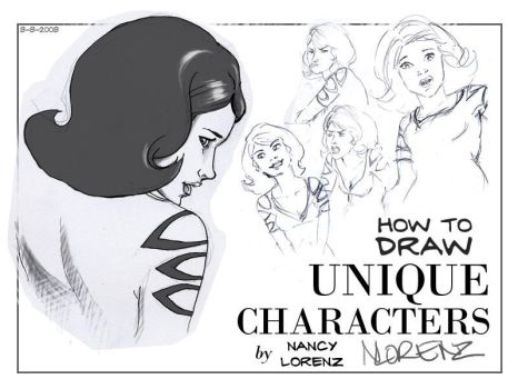 How to Draw Unique Characters by napalmnacey
