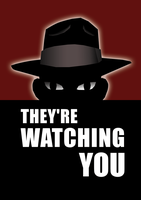 MRAs: THEY'RE WATCHING YOU by Jon-Wood