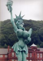 Statue of Liberty by Flapjackrabbit