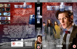 DOCTOR WHO SERIES 7 DVD WIP by MrPacinoHead