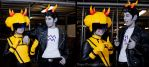 Homestuck: Cronus and Mituna by Yonejiro