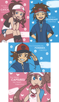Unova Region Pokemon Valentines by tachii