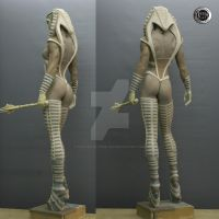 Creacion  propia - Cobra -3 by rieraescultura-art