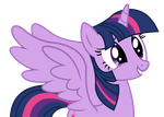 Alicorn Twilight Vector by PaulyVectors