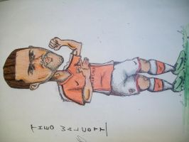 cartoon football player 4 by davo132