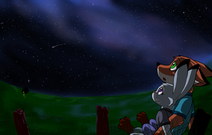 Stargazing by ElectricLimeRose