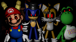Five Nights at Sonic's pack by MarioKid1285