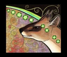 Muntjac Deer as Totem by Ravenari
