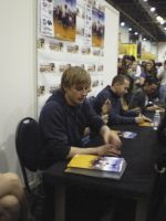 BRADLEY JAMES by drwhofreak