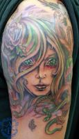 Medusa Tattoo done by Sean Ambrose by seanspoison