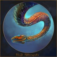 Specimens: Ribbonsnake by juliedillon