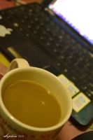 Coffee and my laptop by clongetch