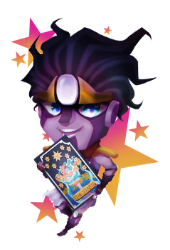 Star Platinum (chibi) by y0waifu