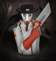 Plague Doctor by Shoulder-Devil